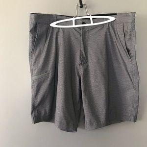 Hawke & Co. Men's Shorts 38W Gray